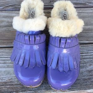 Purple Ugg Clogs